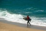 The surf camp manager, Rodrigo