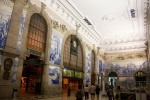 The story of Porto, told on tiles inside the Central Station