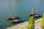The boats that used to bring the Port wine